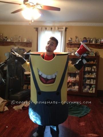 Cool Homemade Carl BeeDoo Minion Costume
