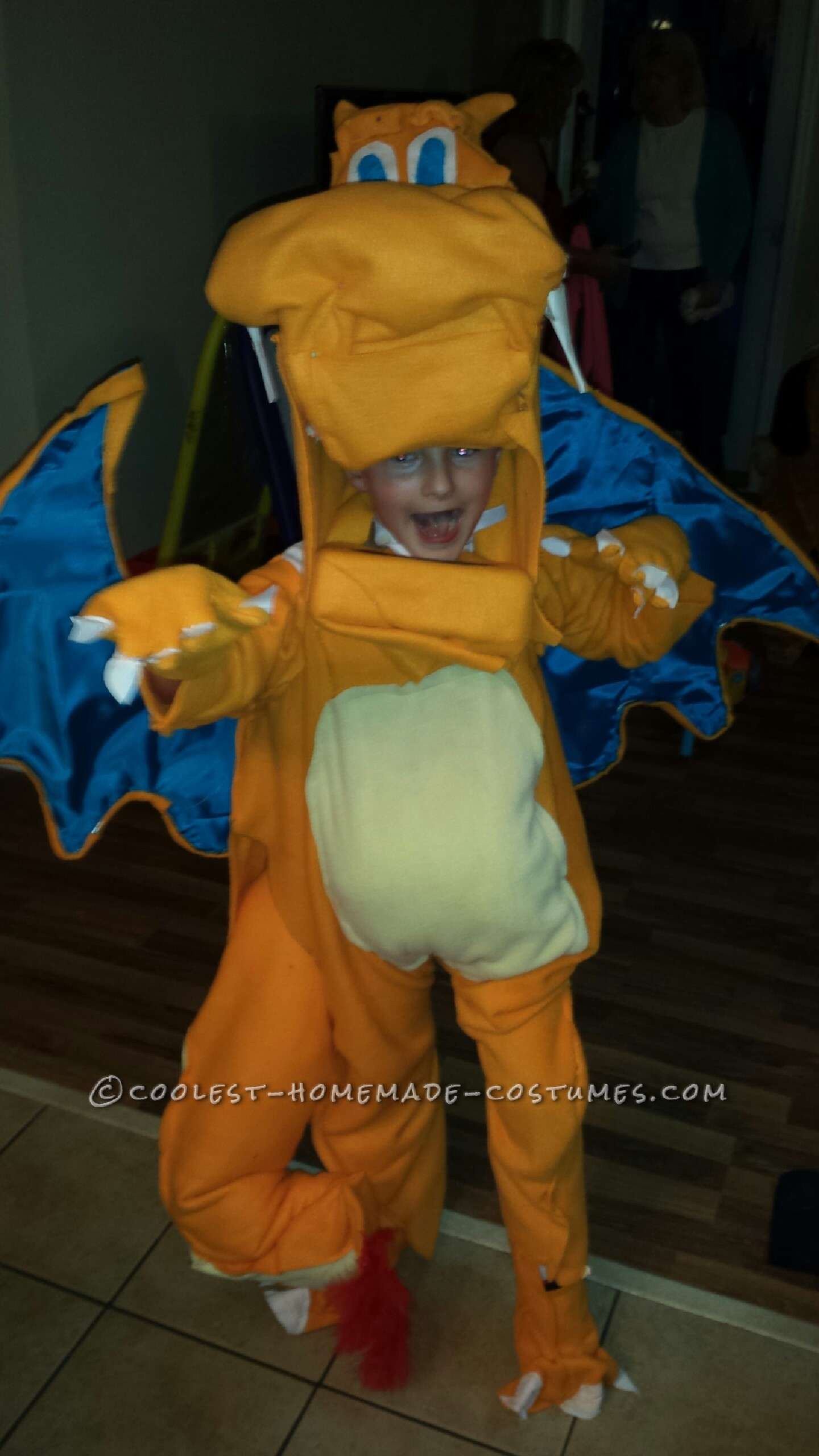 Charizard Halloween Costume for a Boy