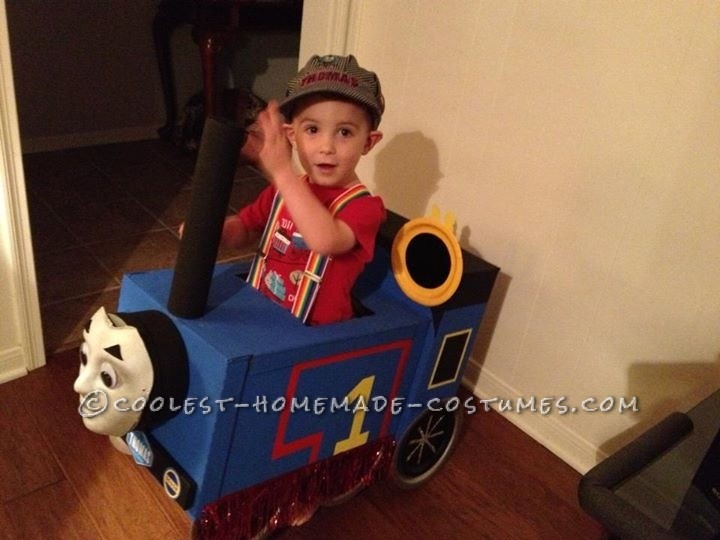 Choo Choo Thomas Costume for a Toddler