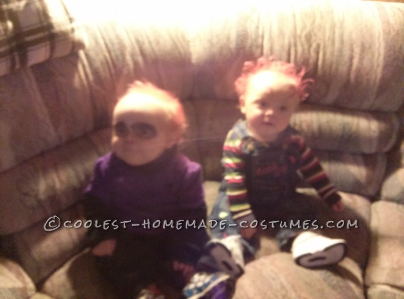 Chucky and His Seed Twin Baby Costumes