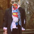 Creepy Clark Kent Superman Zombie Costume