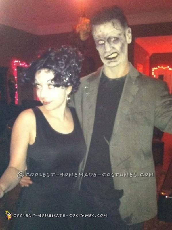 Betty Boop and Frankenstein Monster