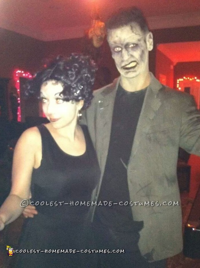 Betty Boop and Frankenstein Monster