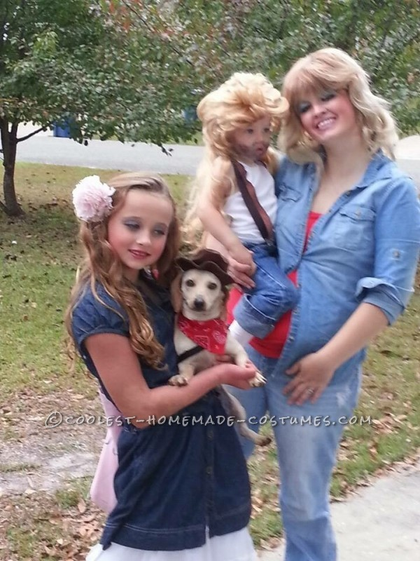 Classy Country Family Costumes