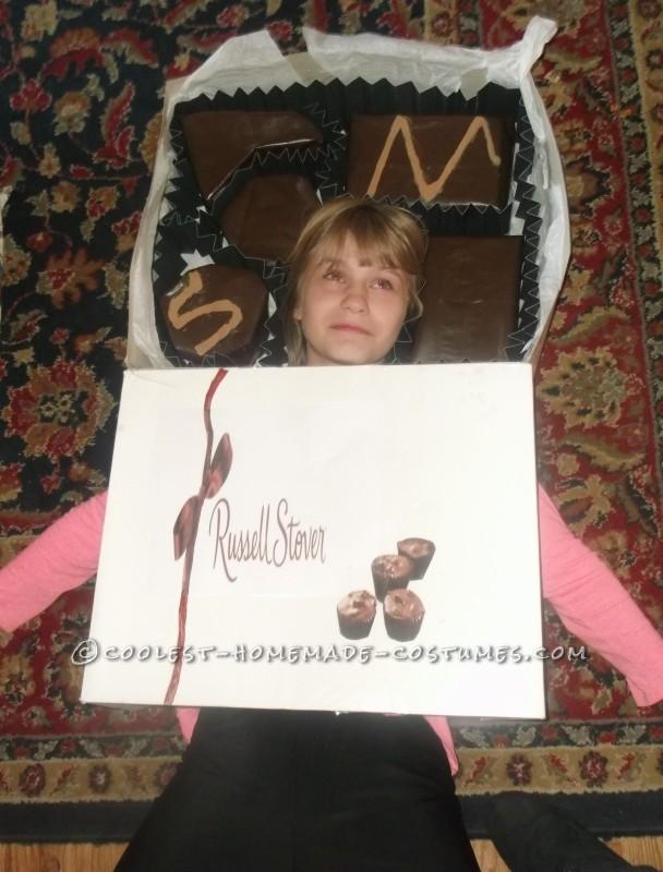 Cool DIY Costume Idea: Life is Like a Box of Chocolates - 2
