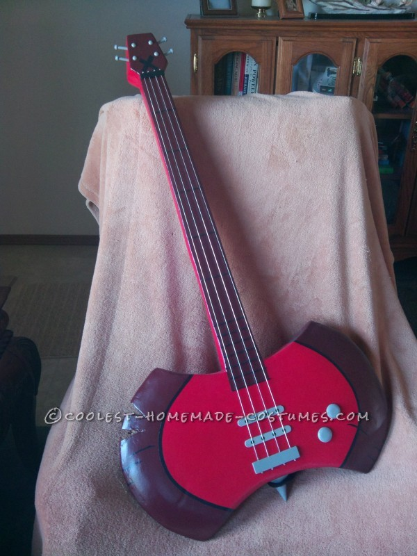 Props Bass Ax and Blood Sword