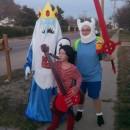 Coolest Adventure Time Trio Costume Ever!