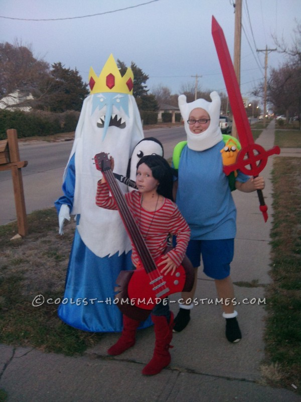 Coolest Adventure Time Trio Costume Ever!