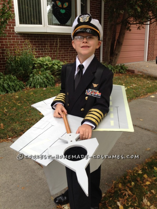 Coolest Aircraft Carrier and Captain Costume