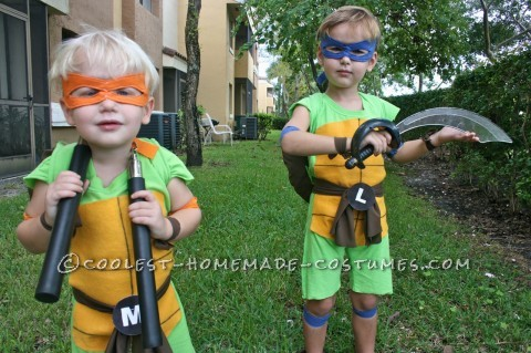 Coolest and Cheapest Homemade Ninja Turtle Costumes