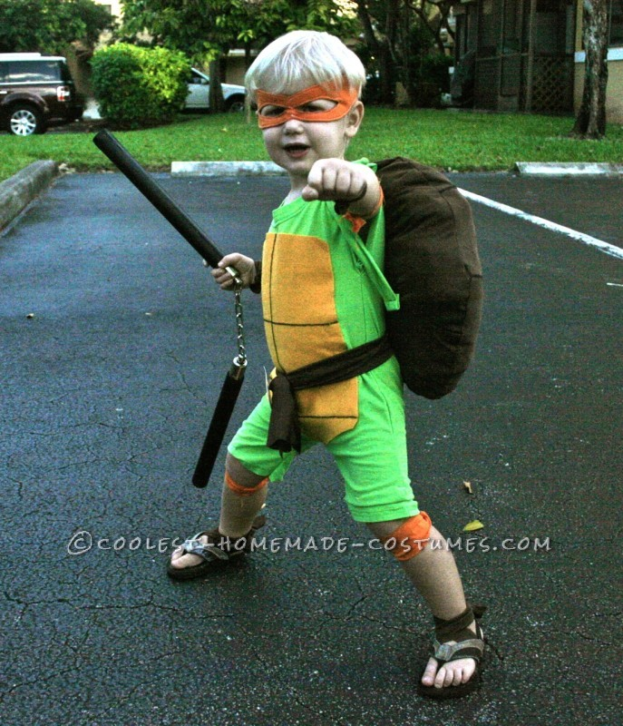 Coolest and Cheapest Homemade Ninja Turtle Costumes - 1