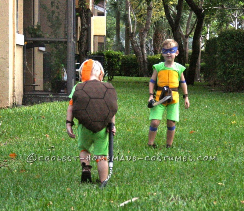 Coolest and Cheapest Homemade Ninja Turtle Costumes - 3