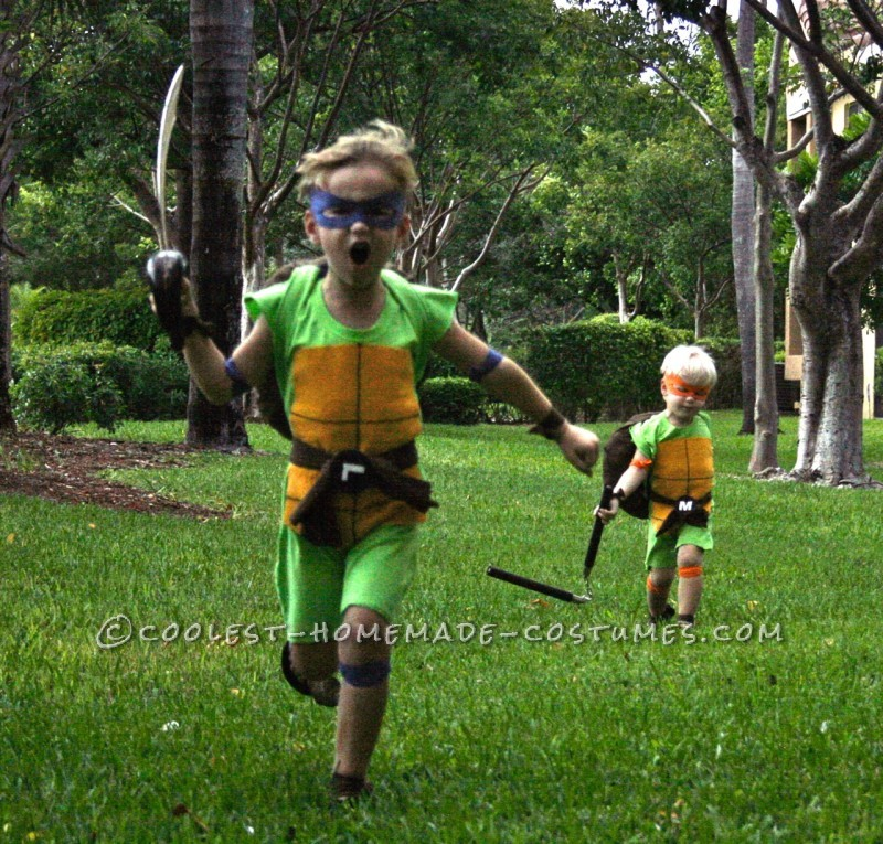 Coolest and Cheapest Homemade Ninja Turtle Costumes - 4