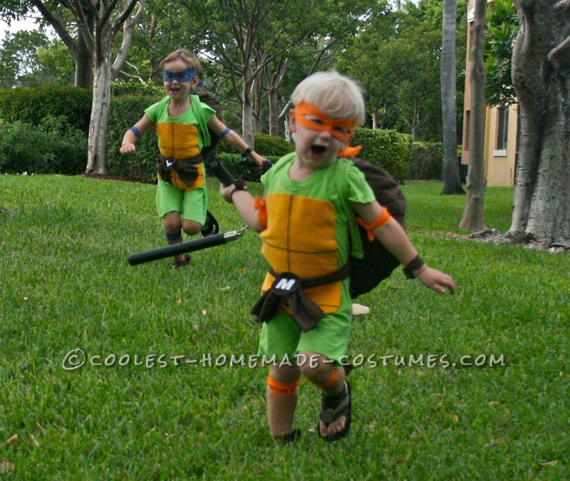 Coolest and Cheapest Homemade Ninja Turtle Costumes - 5