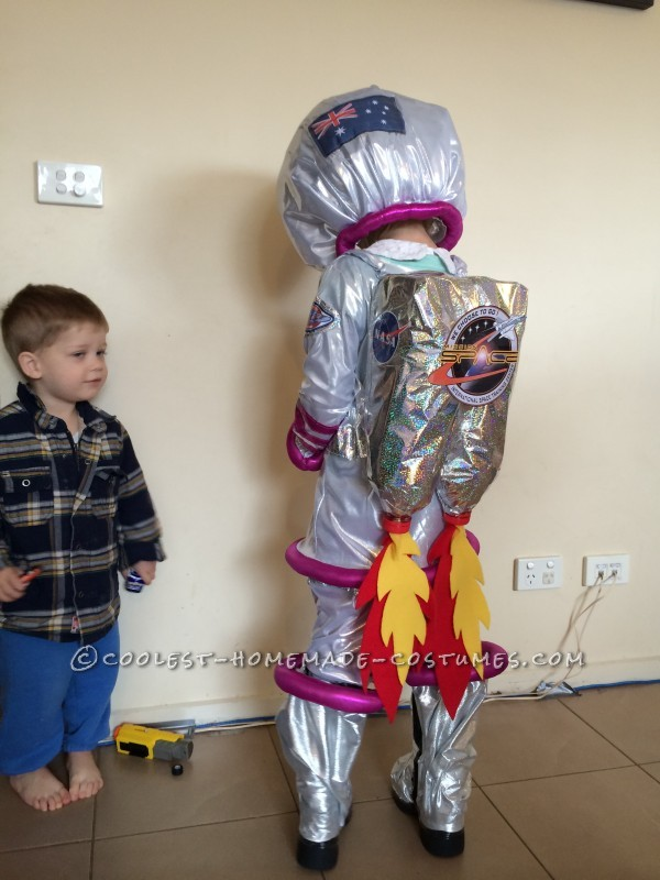 How To Make Astronaut Suit For Kids