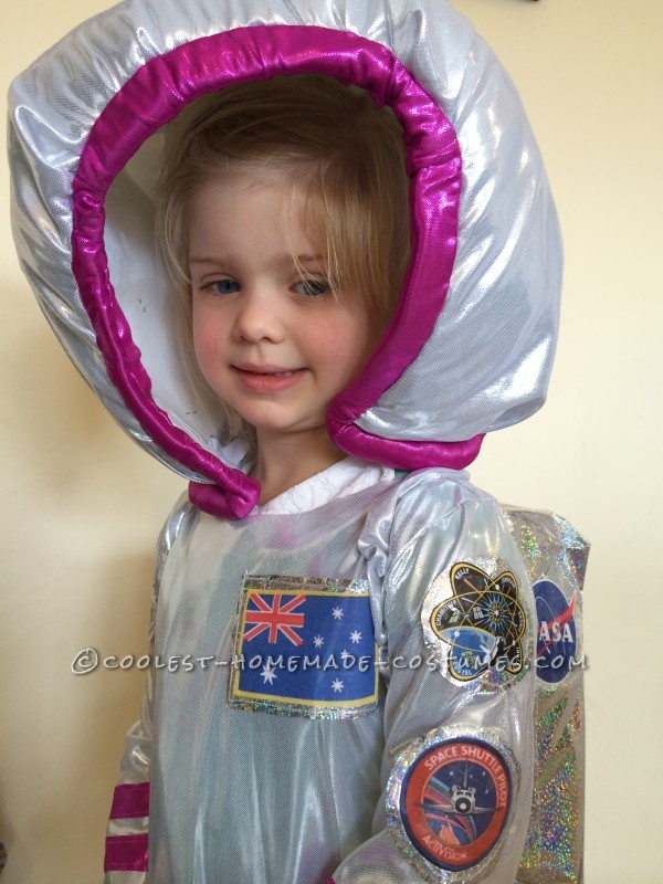 Coolest Girls Astronaut Costume