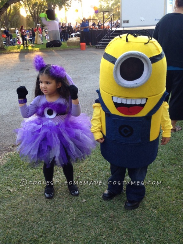 Coolest Handmade Minion Costume