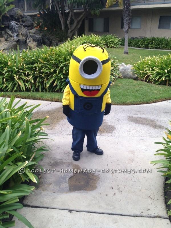 Coolest Handmade Minion Costume - 2