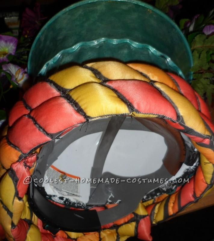 Underside of Flower Pot Showing Hard Hat