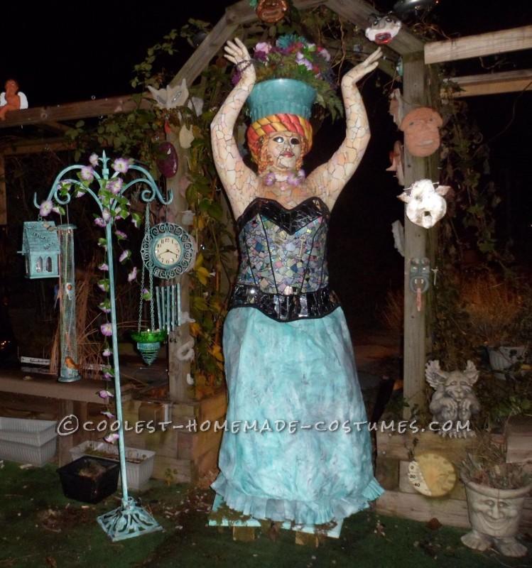 Living Garden Mosaic Statue