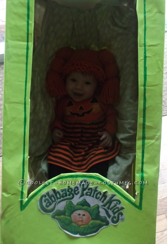 Coolest Homemade Baby in a Stroller Cabbage Costume - 2
