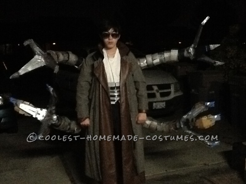 Coolest Homemade Doctor Octopus Costume