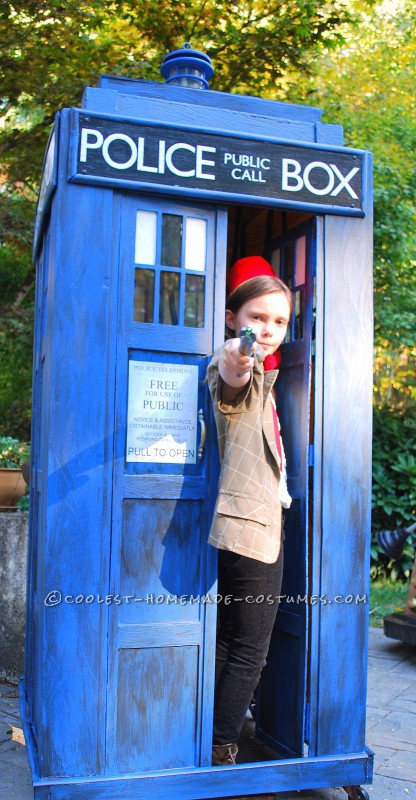 The Doctor and her TARDIS