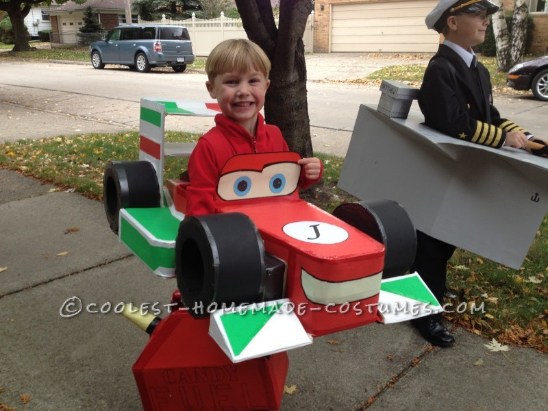 Coolest Homemade Francesco Bernoulli Costume from Disney's Cars
