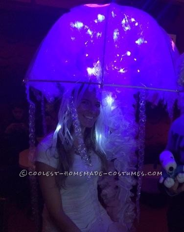 Glowing Jellyfish Halloween Costume