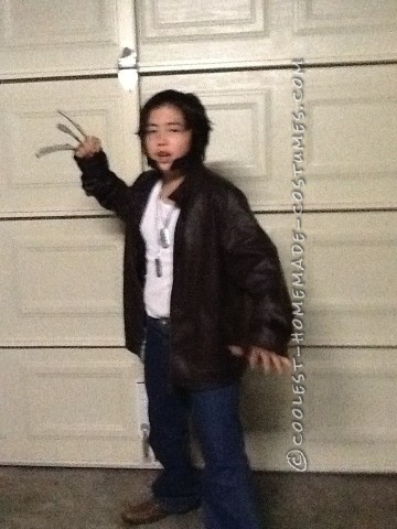 Coolest Kids Wolverine Costume