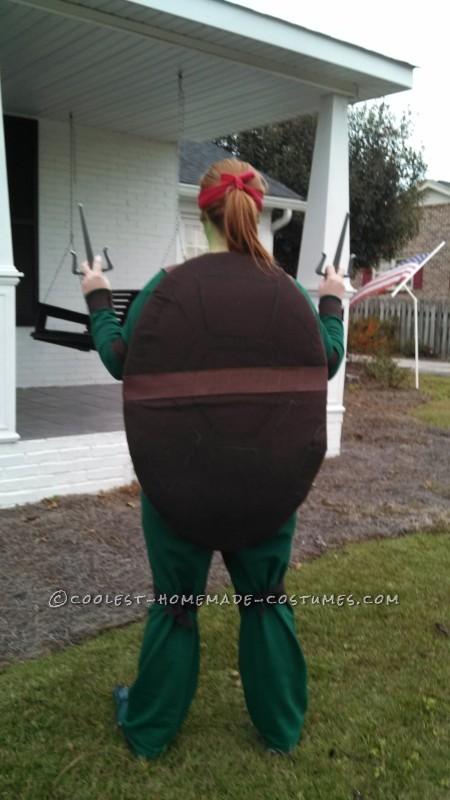 Cool Raphael Ninja Turtle Costume - 2