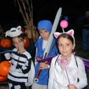 Coolest Moogle, Dry Bones and Link Group Halloween Costume