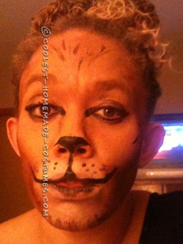 Lion Face Paint