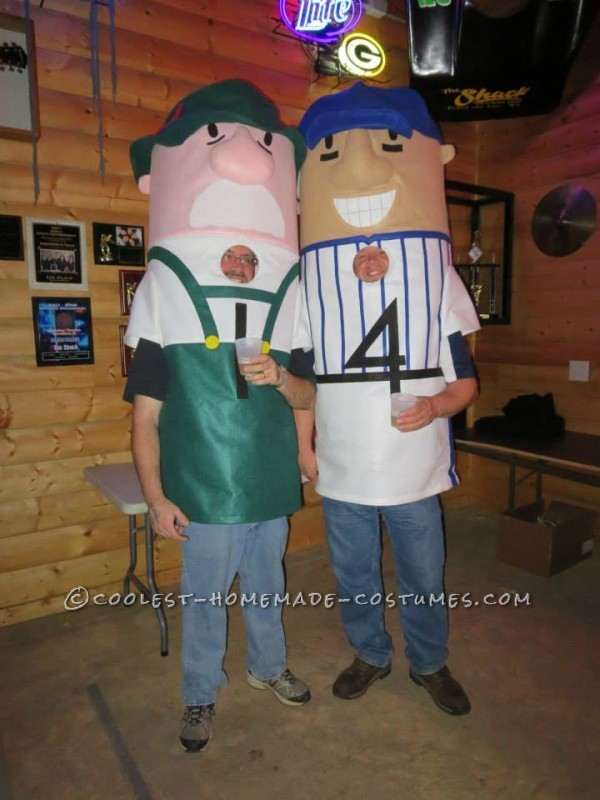 Coolest Milwaukee Brewer Racing Sausages Group Costume - 2
