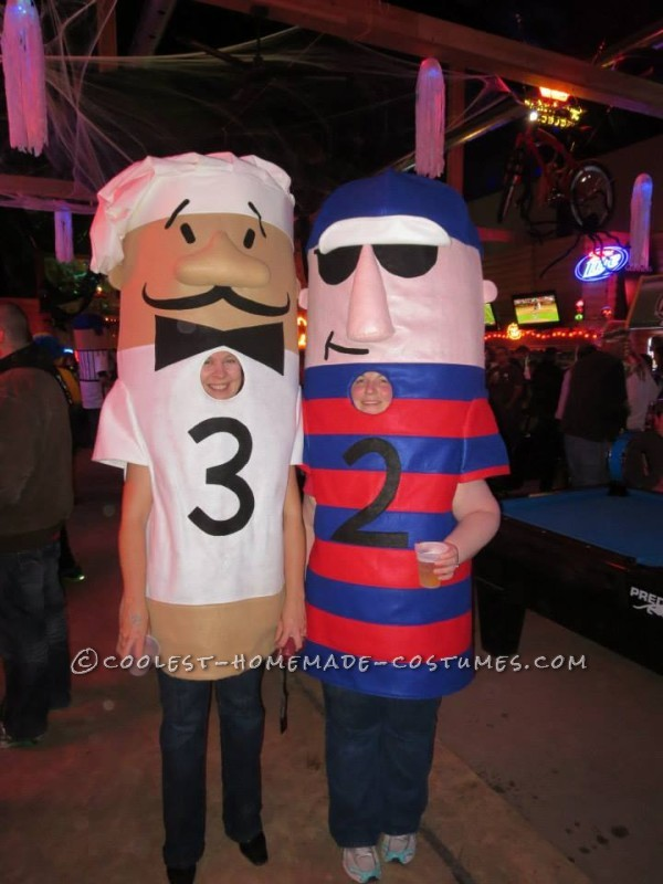 Coolest Milwaukee Brewer Racing Sausages Group Costume - 3