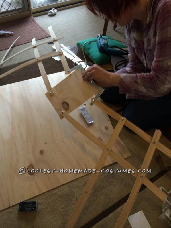 Me, adding corner thingys.