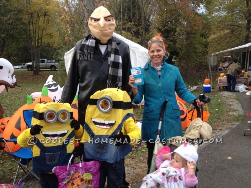 coolest diy minion halloween costumes for kids