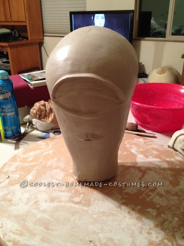 Clay mold of Celia