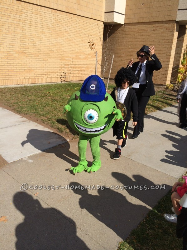 Coolest Monsters Inc. Family Halloween Costumes
