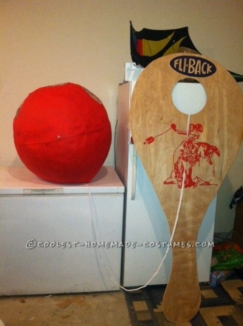 Coolest Paddle Ball Couple Halloween Costume - 2