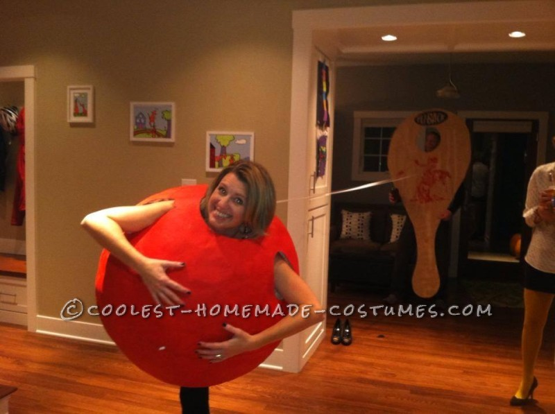 Coolest Paddle Ball Couple Halloween Costume - 1