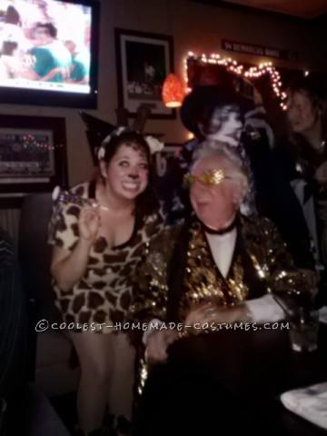 Coolest Giraffe Party Animal Halloween Costume