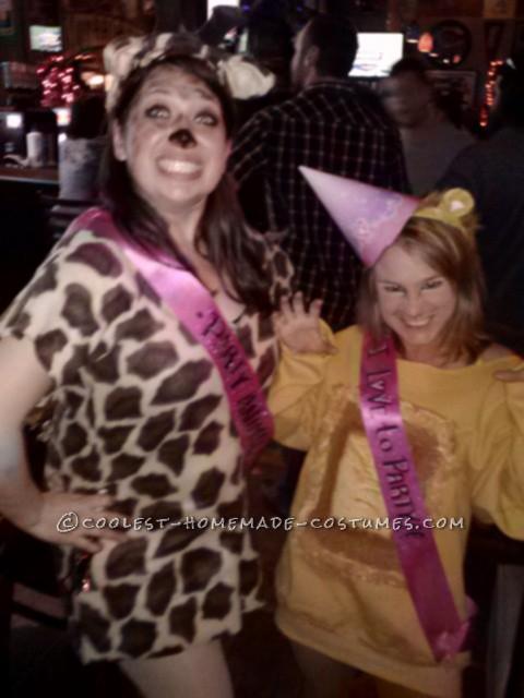 Coolest Giraffe Party Animal Halloween Costume - 2