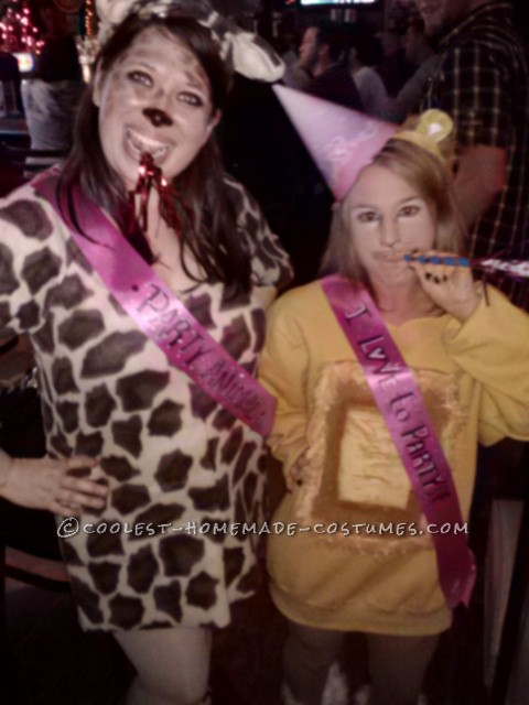 Coolest Giraffe Party Animal Halloween Costume - 3