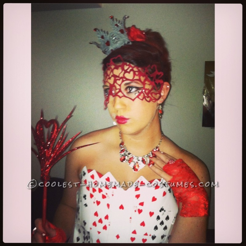 Sexy Homemade Queen of Hearts Costume - 2