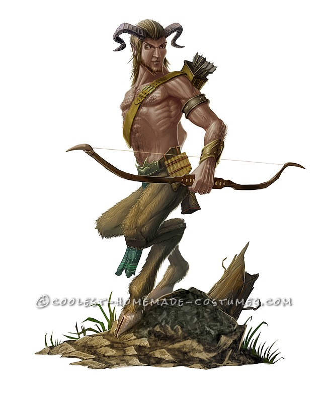 Coolest Homemade Satyr (Goatman and Nymph) Costumes - 2