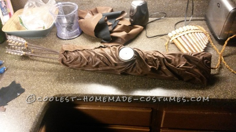 Making the Bow/Arrows/Quiver and Wings