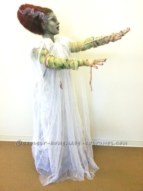 Coolest Technicolor Bride of Frankenstein Costume - 1