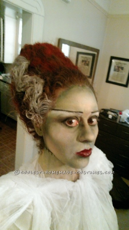 Coolest Technicolor Bride of Frankenstein Costume