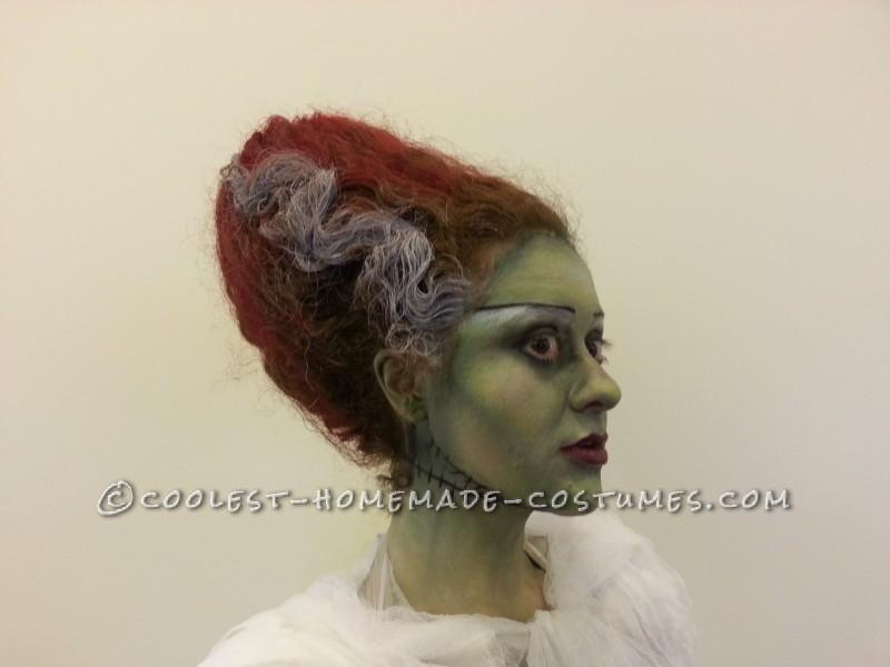 Coolest Technicolor Bride of Frankenstein Costume - 4